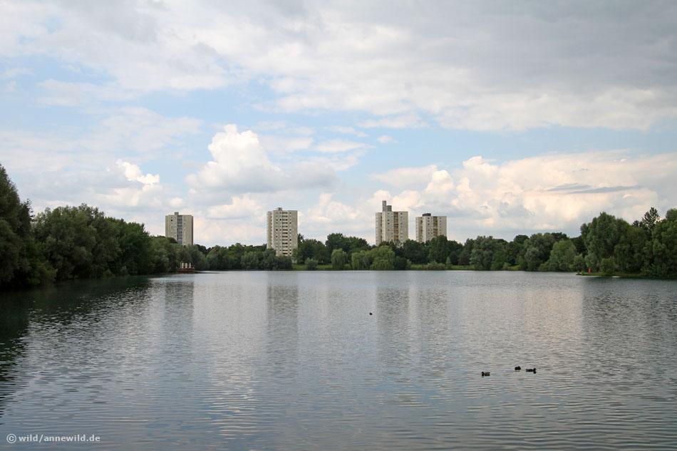 Lerchenauer See im München